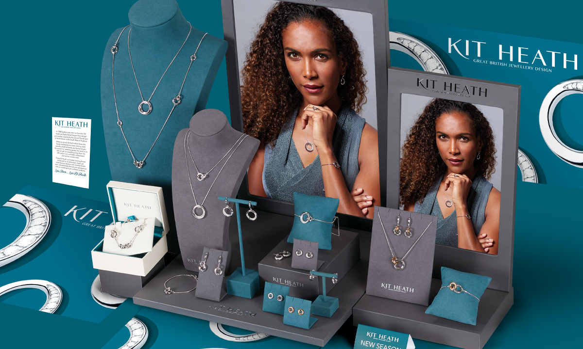 AW20 Visual Merchandising Inspiration for Kit Heath Silver Jewellery