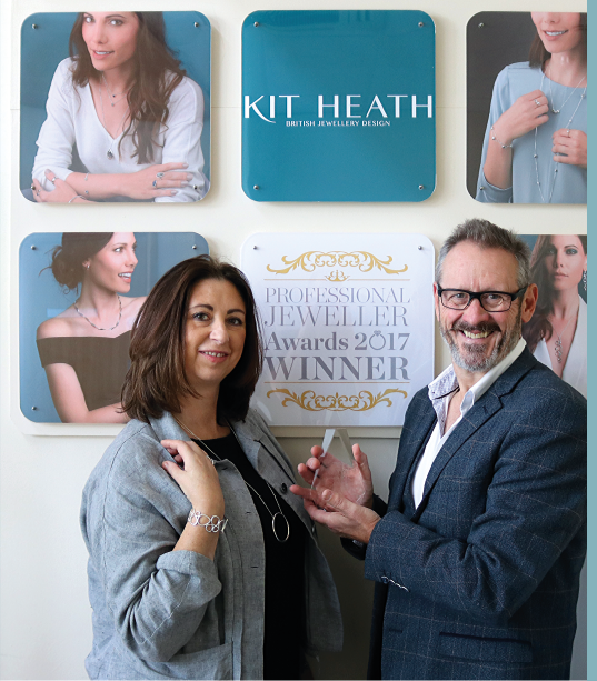 Katie Nickell and Kit Heath, co-founders of Kit Heath Ltd